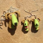 Eco Green Dog Jewelry!